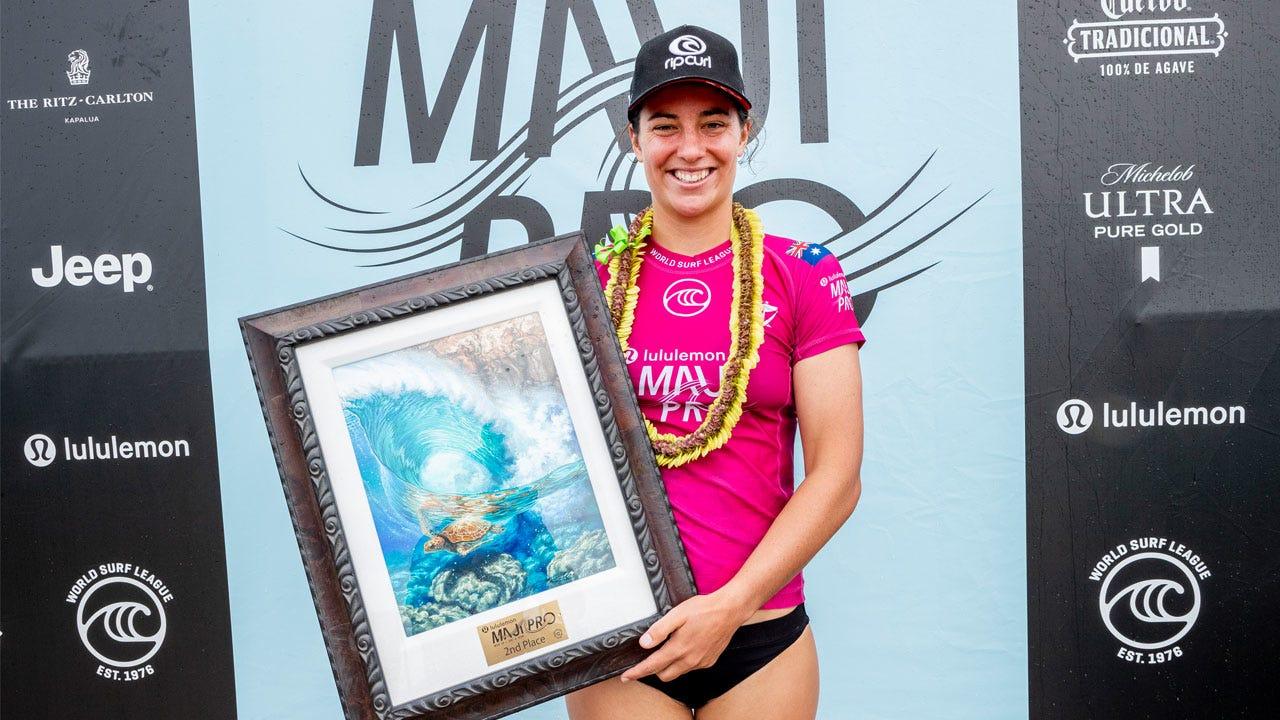 Tyler Wright - Runner Up in Maui