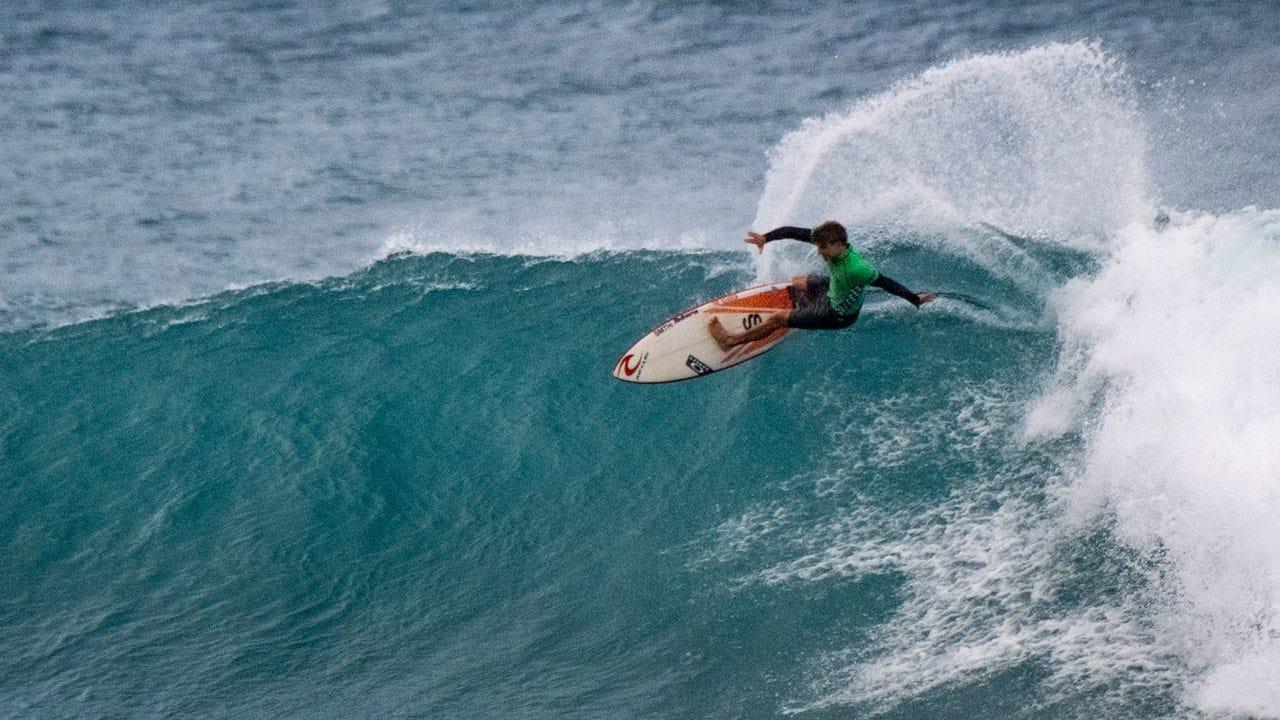 Matt Surfing Sunset