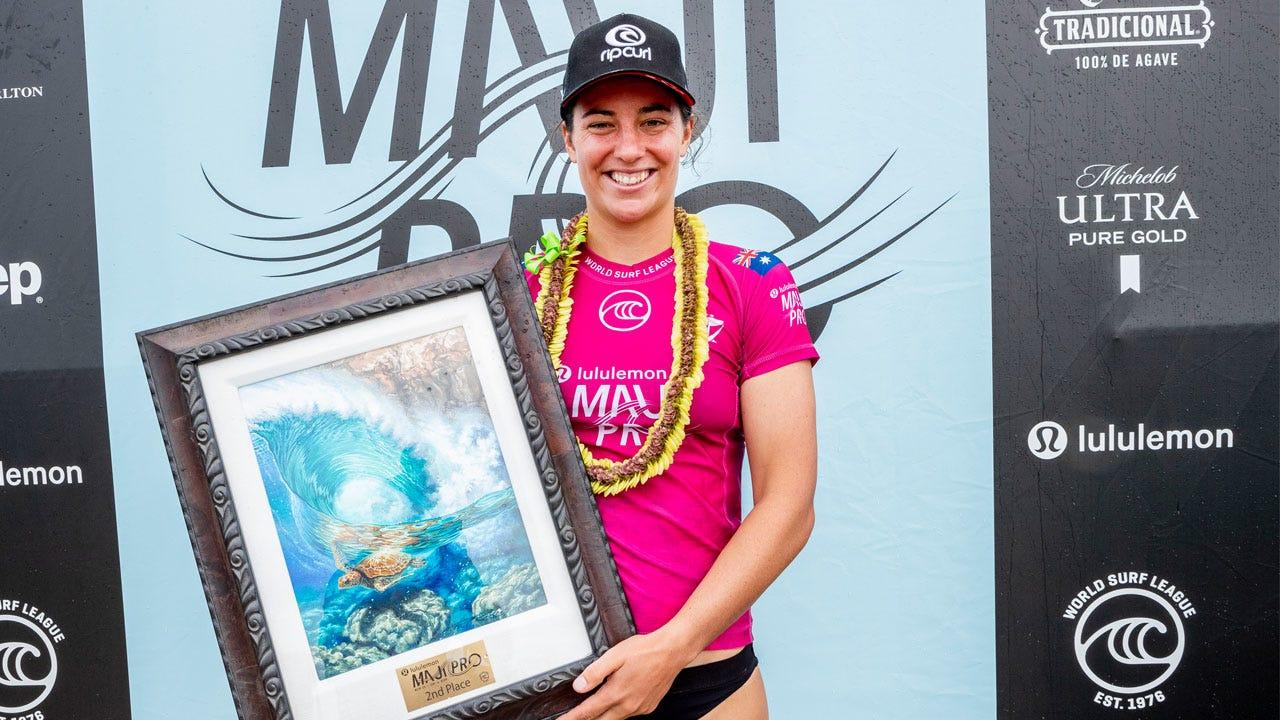 Tyler Wright - Runner Up Maui Pro