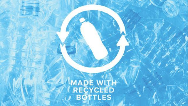 Made with Recycled Bottles