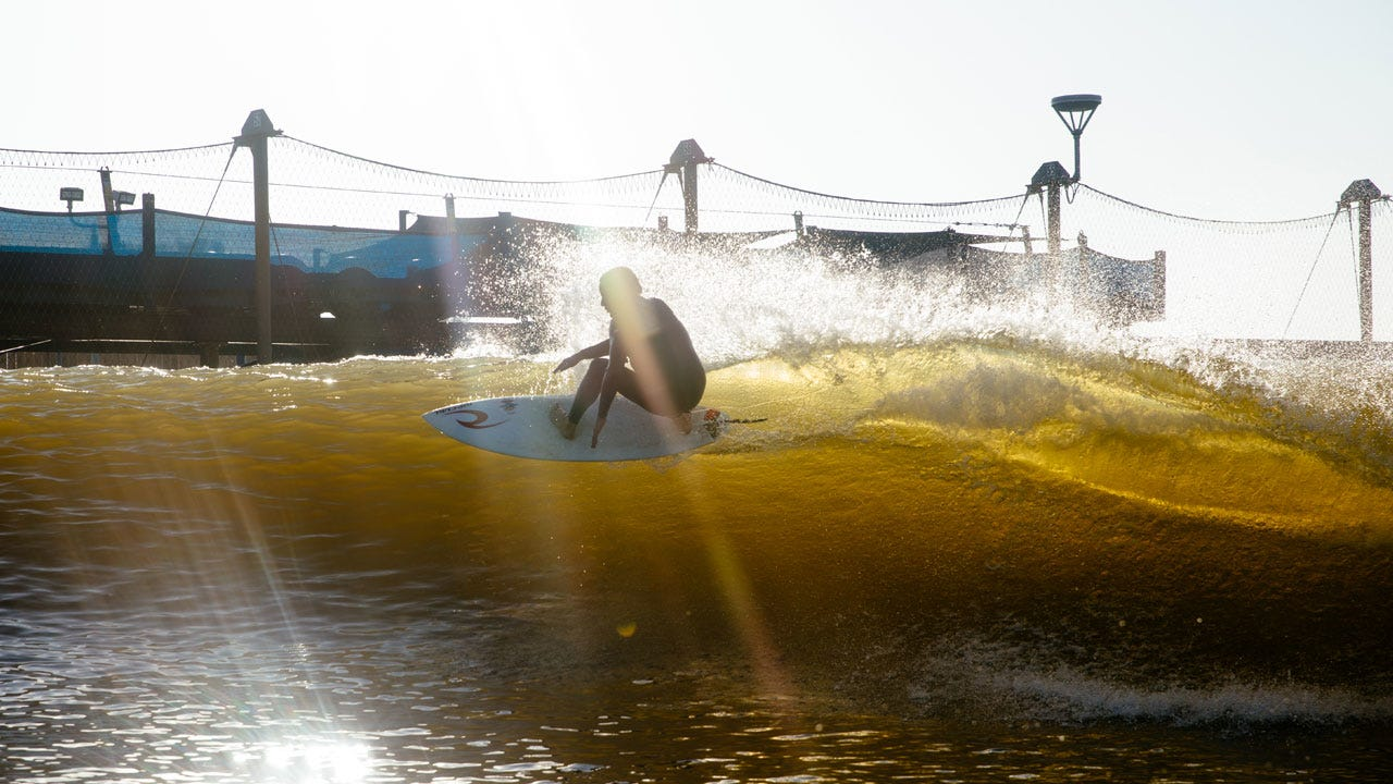 Tom Curren at the Surf Ranch