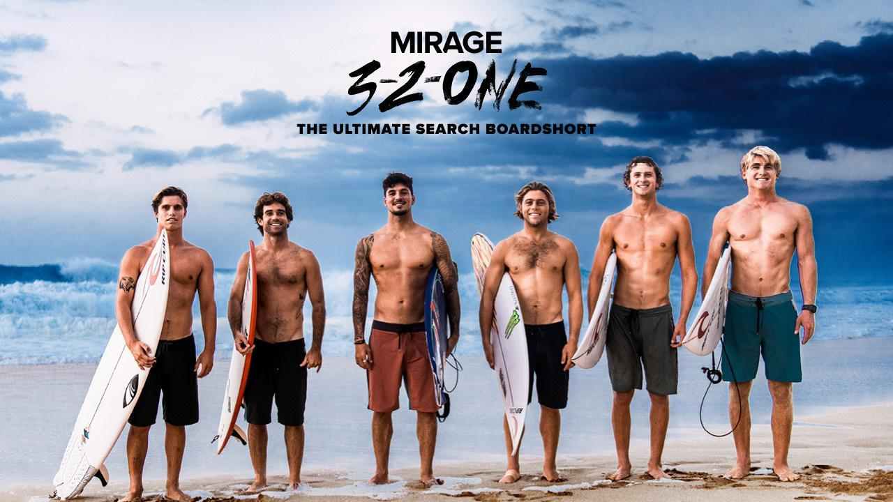 The Mirage Ultimate 3-2-One Boardshort