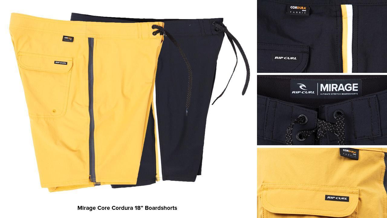 Mirage Core Cordura Boardshorts
