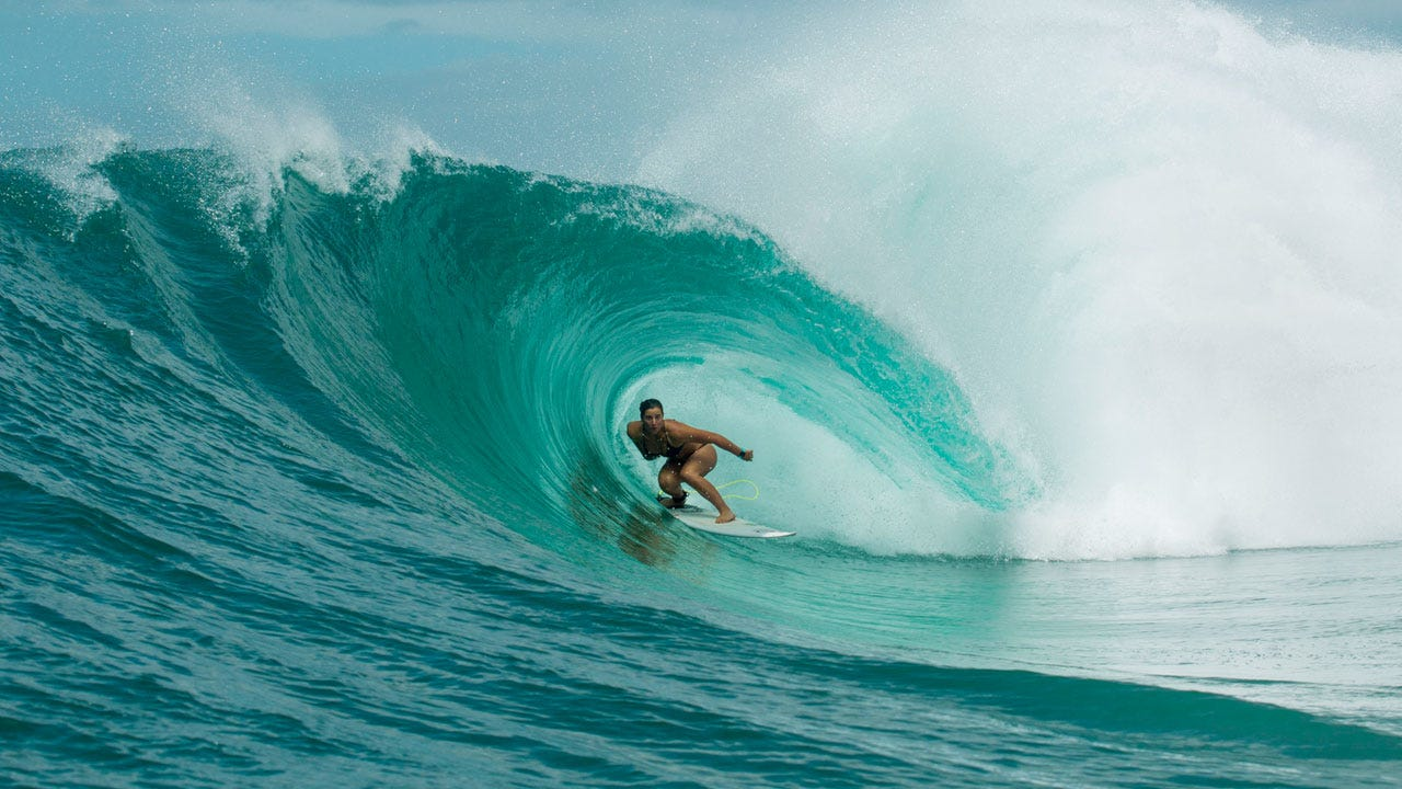 Tyler Wright at Home on the Gold Coast