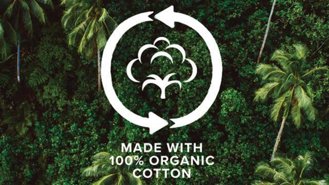 Made with 100% organic cotton