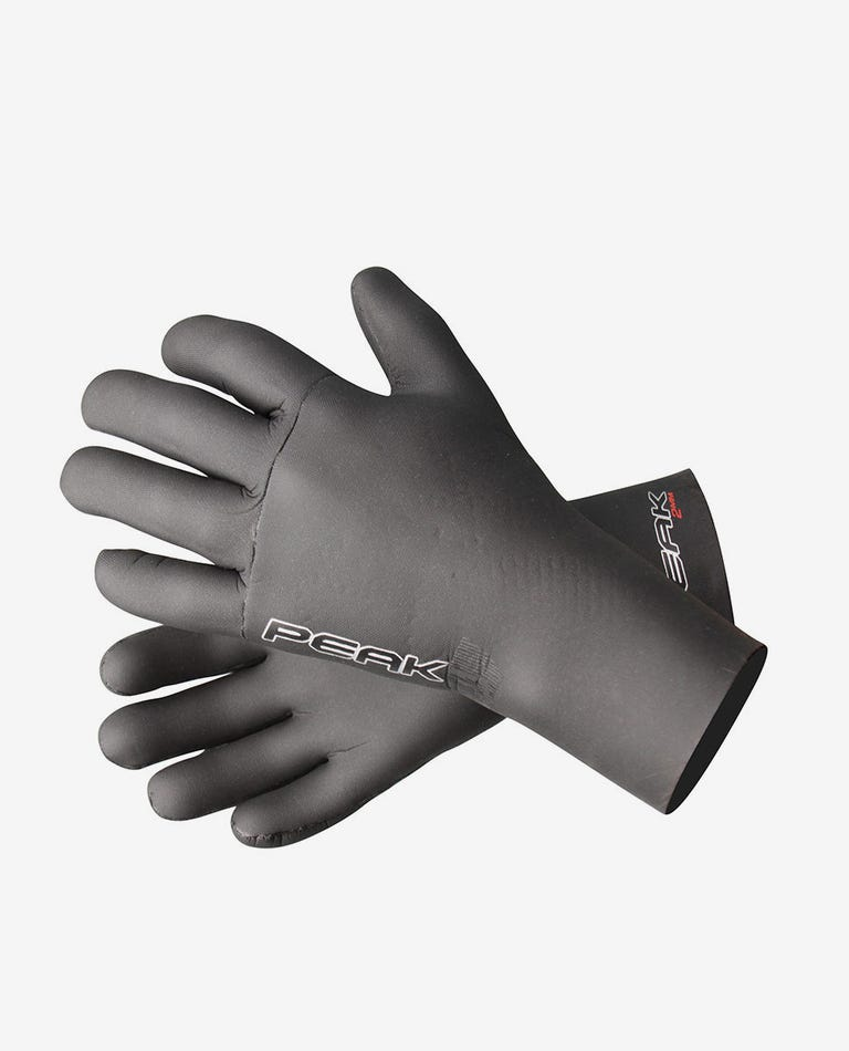 Peak 2mm Sealed Wetsuit Gloves in Black