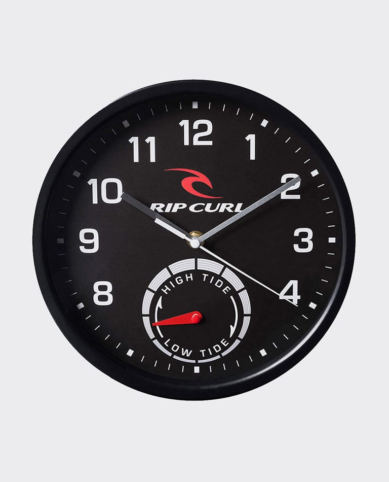 Tide Wall Clock in Black