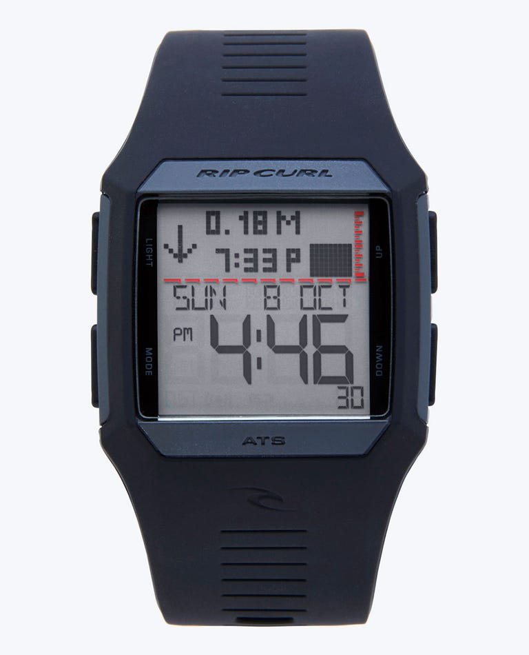 Rifles Tide Watch in Black