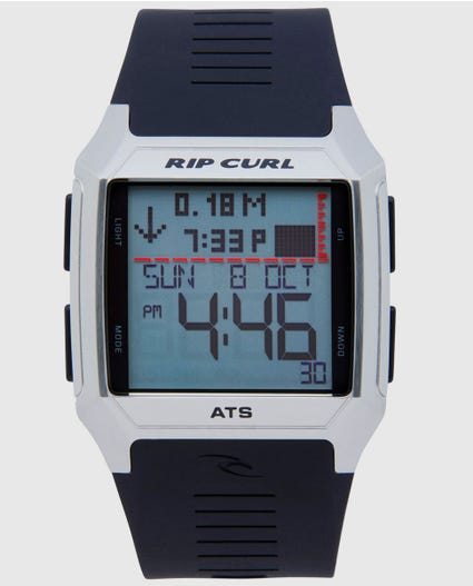 Rifles Ss Tide Watch Black in Black