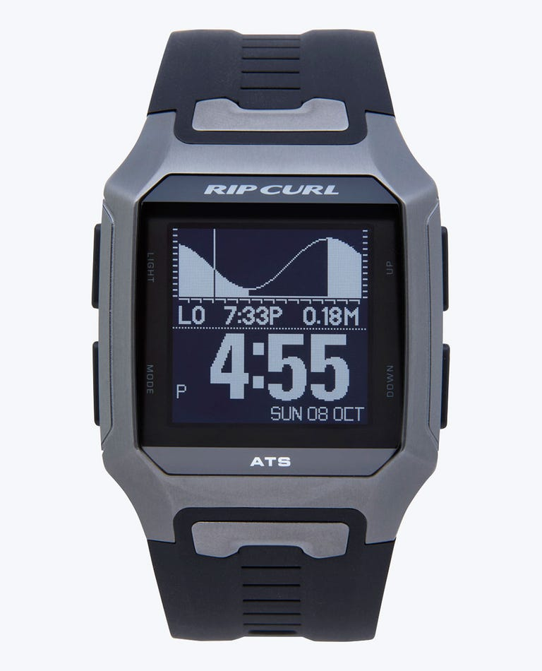 Rifles Titanium Auto-Set Tide Watch in Titanium