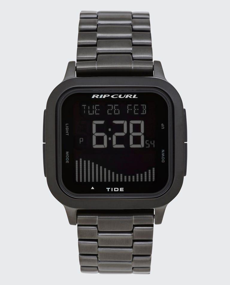 Next Tide Stainless Steel Watch in Gunmetal Grey