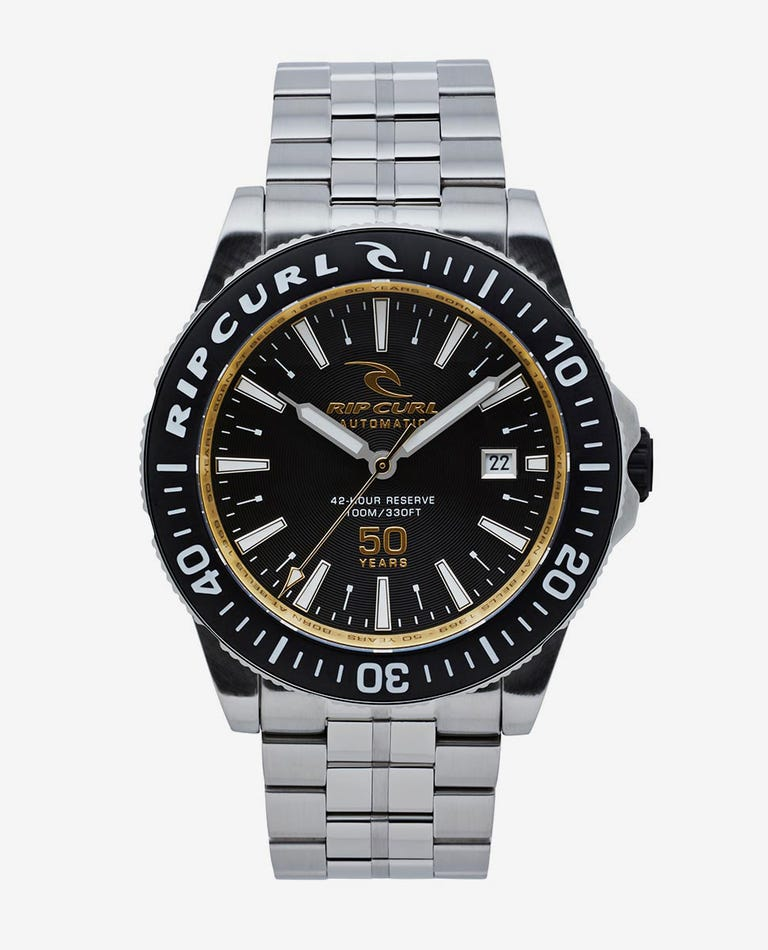 Rip Curl 50Th Anniversary Watch in Black