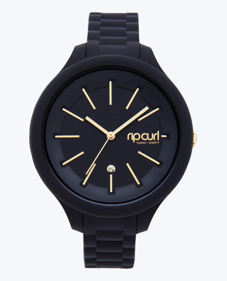 Alana Horizon Silicone Surf Watch in Black