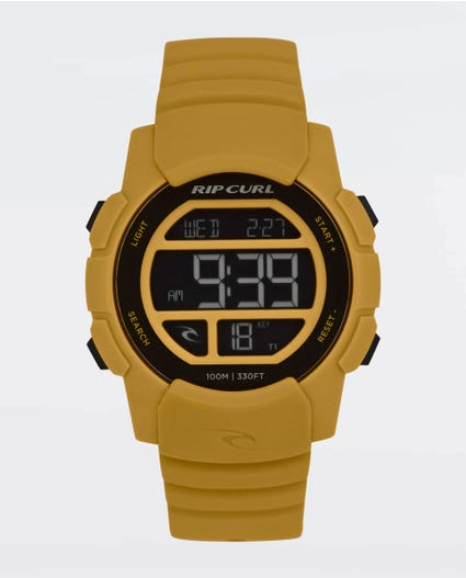 Mission Digital Watch in Yellow