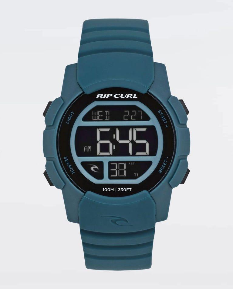 Mission Digital Watch in Cobalt