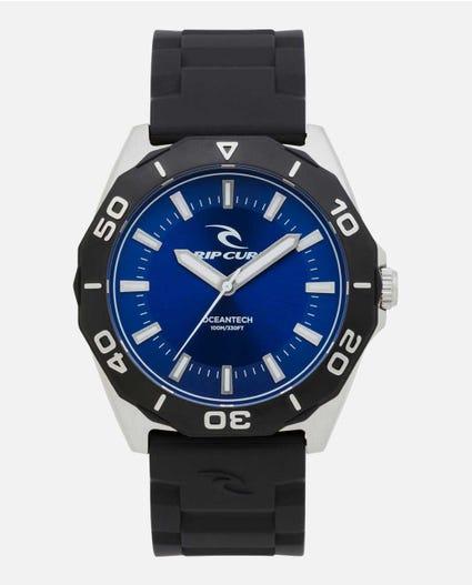 DVR Classic Rubber Watch in Blue