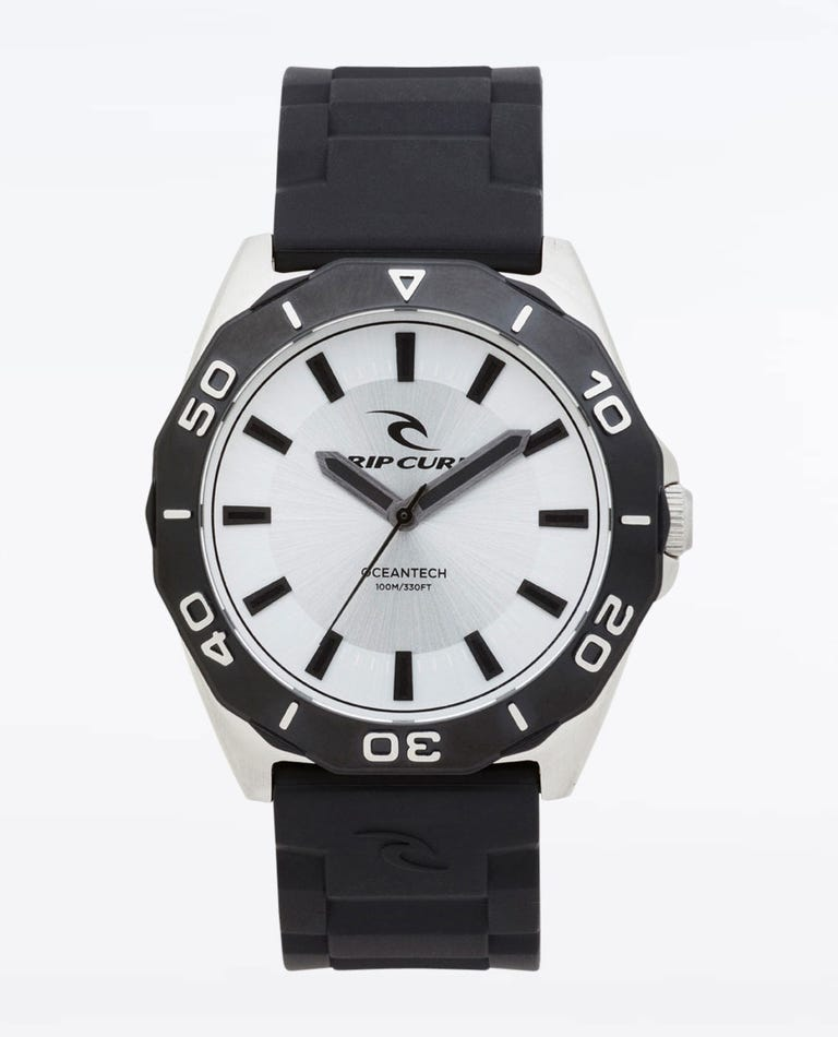 DVR Classic Rubber Watch in Silver