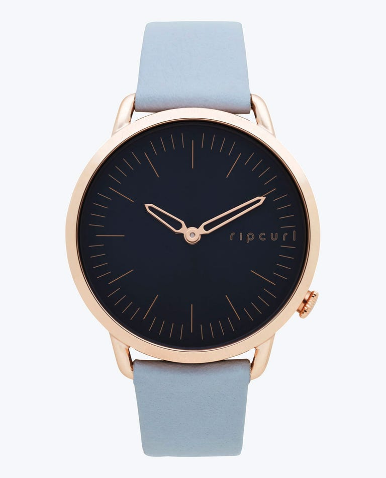 Super Slim Rose Gold Leather in Grey