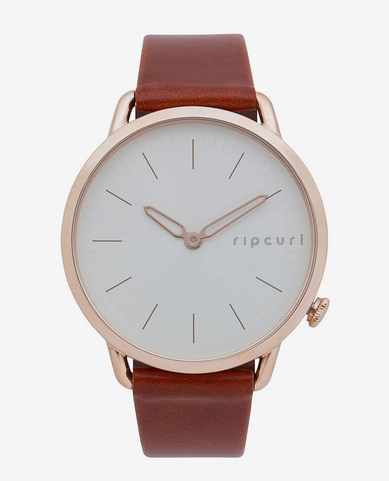 Super Slim Rose Gold Leather in Rose Gold