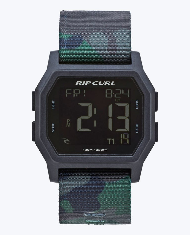 Atom Webbing Digital Watch in Camo