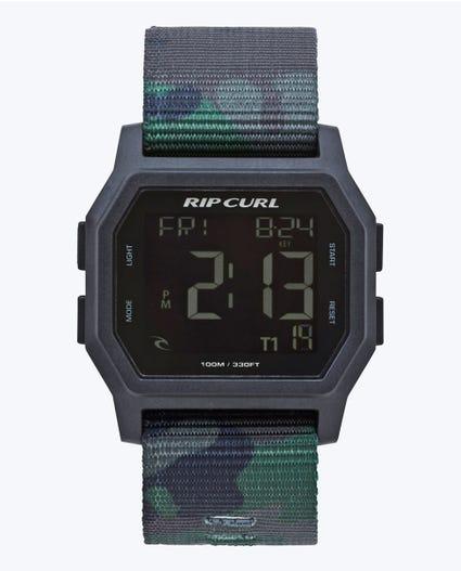 Atom Webbing Digital Watch in Navy
