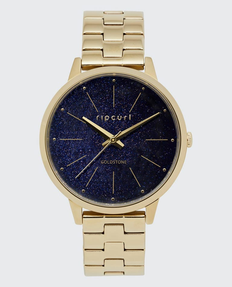 Lola Slim Goldstone Stainless Steel Watch in Blue