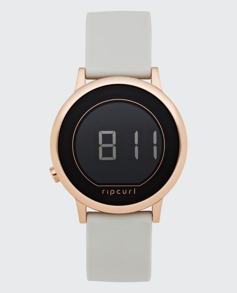 Daybreak Digital Rose Gold Watch in Grey