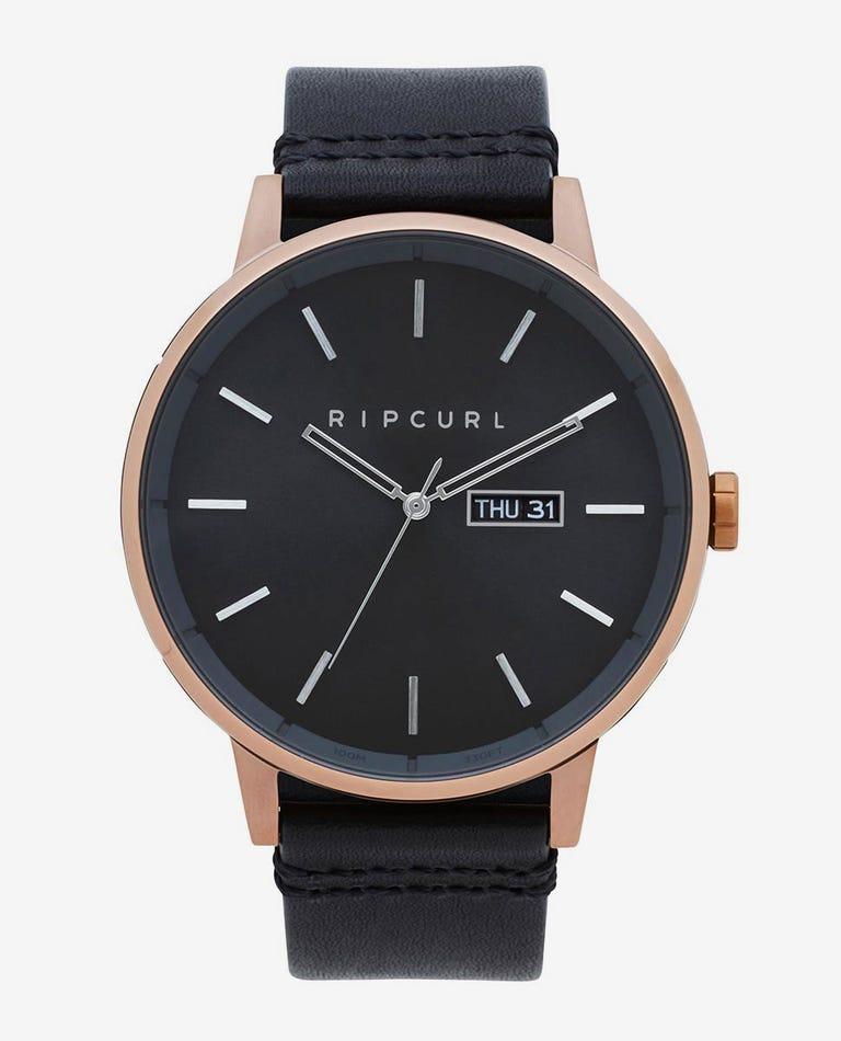 Detroit Bronze Leather Watch in Bronzed