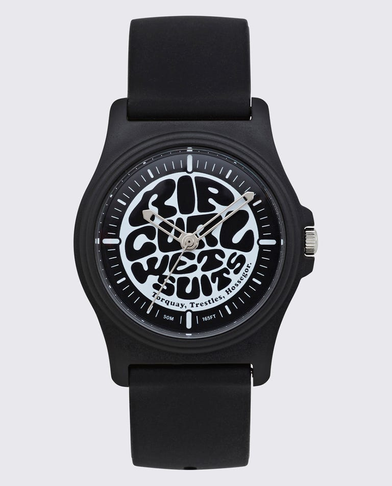 Revelstoke Surf Watch in Black/White