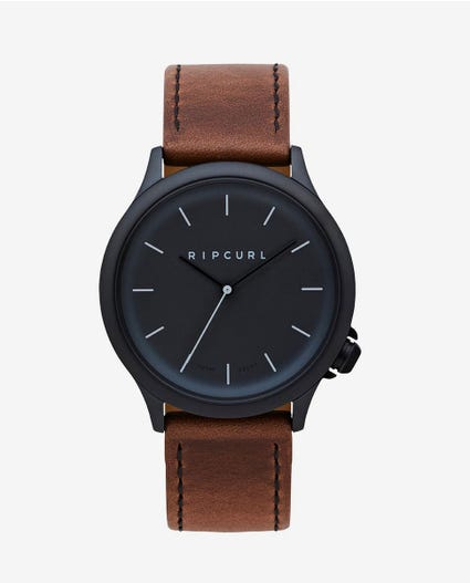 Current Midnight Leather Watch in Brown