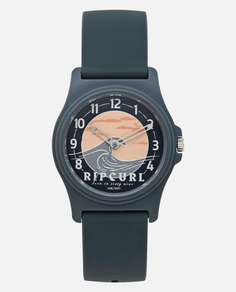 Revelstoke Surf Watch in Steel Grey