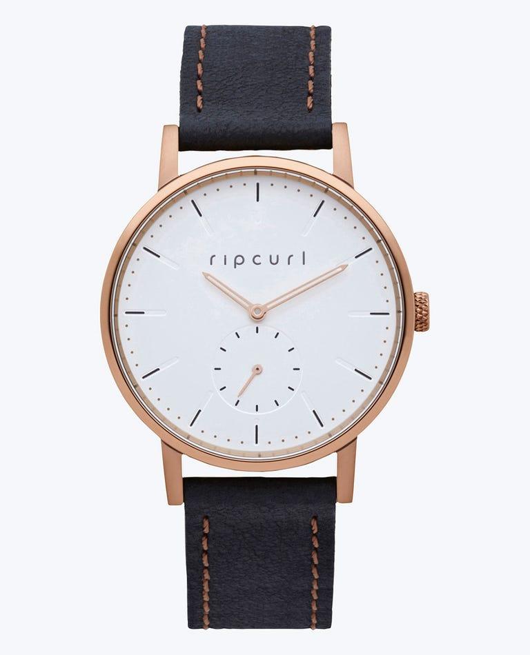Circa Mini Bronze Leather Watch in Bronzed