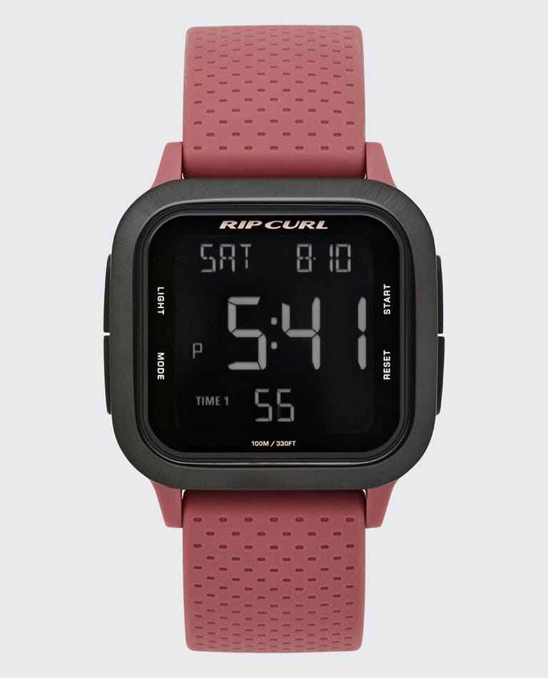 Womens Next Digital Watch in Dusty Rose