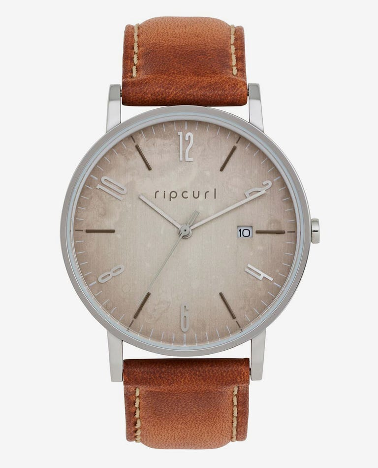 Latch Vintage Leather Watch in Vintage Tan