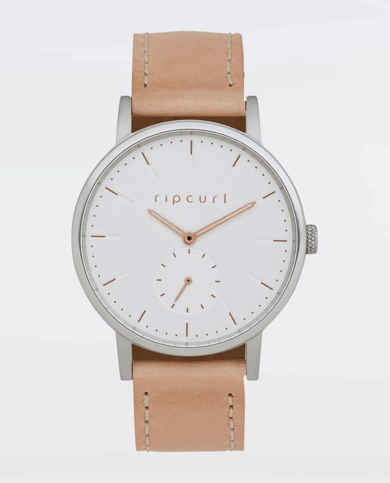 Circa Mini Leather Watch in Nude