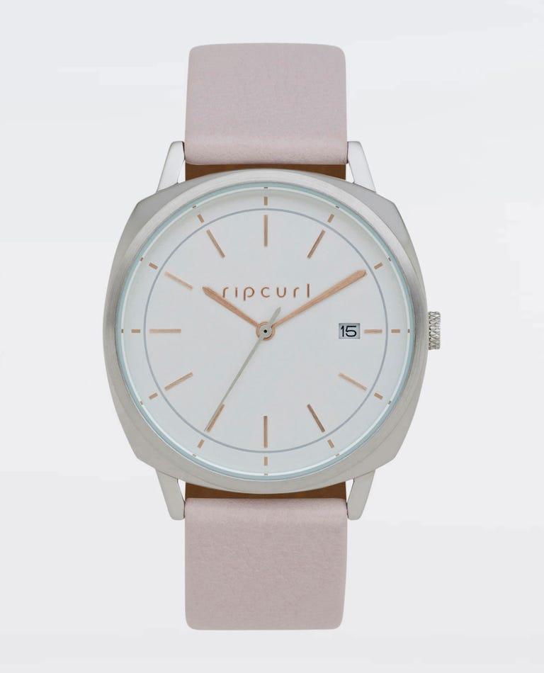 Mali Leather Watch in Pink