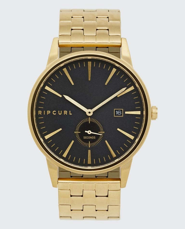 Vision Gold Stainless Steel Watch in Gold