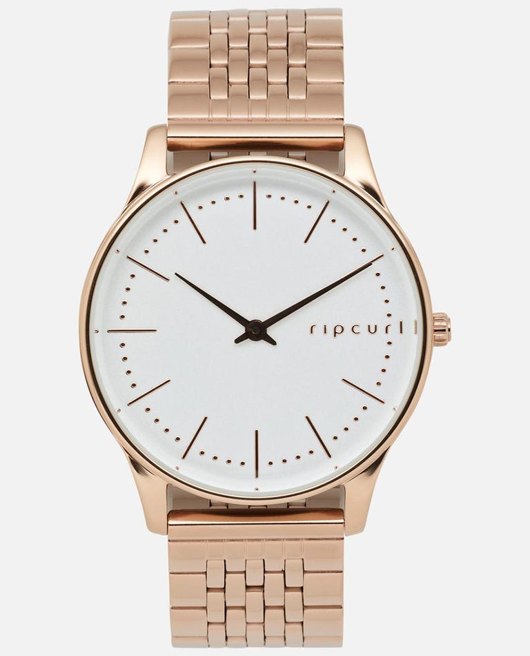 Supreme Slim Rose Gold Stainless Steel Watch in Rose Gold