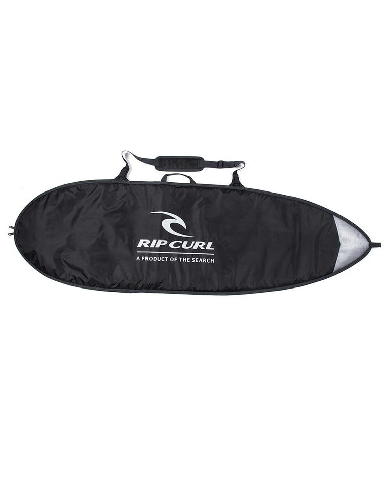 Fish Surfboard Day Cover 65 in Black