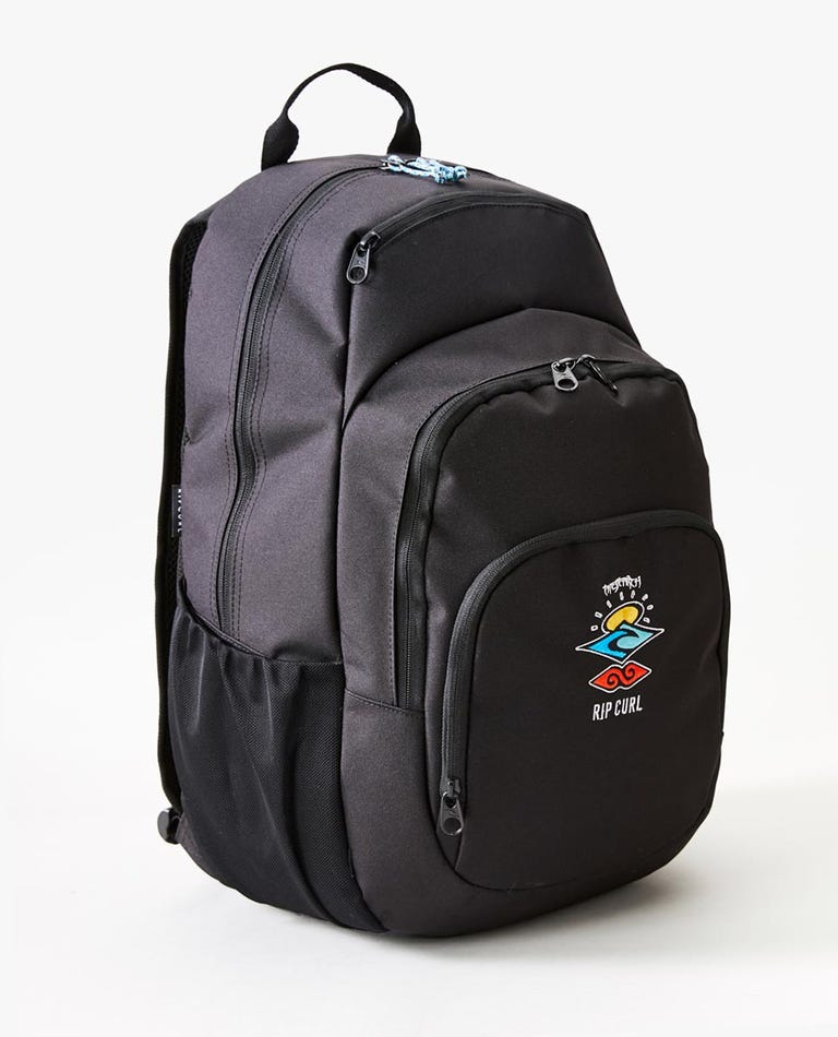 Overtime 33L Search Logo Backpack in Black
