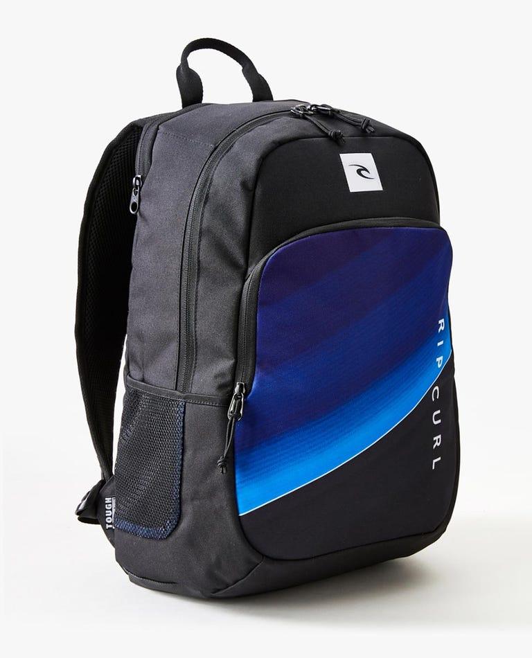 Ozone 30L Zippers Backpack in Black