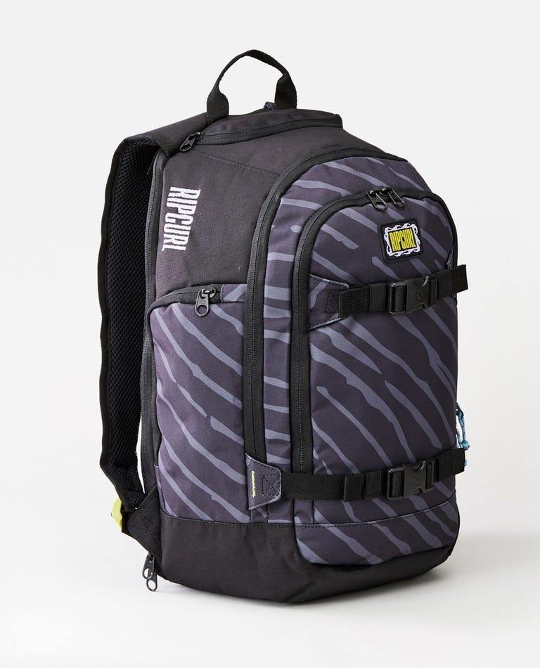 Posse 33L Mind Wave Backpack in Black