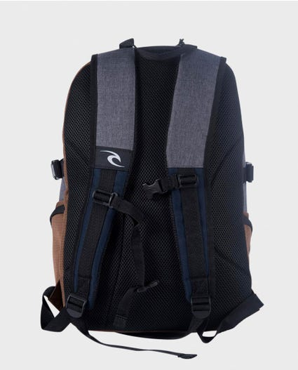 Posse Stacka Backpack in Navy