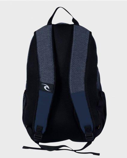 Overtime Stacka Navy Backpack in Navy