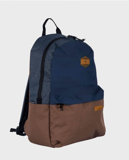 Mood Stacka Navy Backpack in Navy