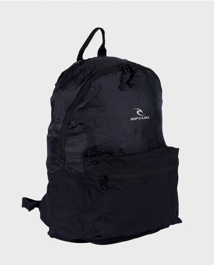 Packable Backpack in Black