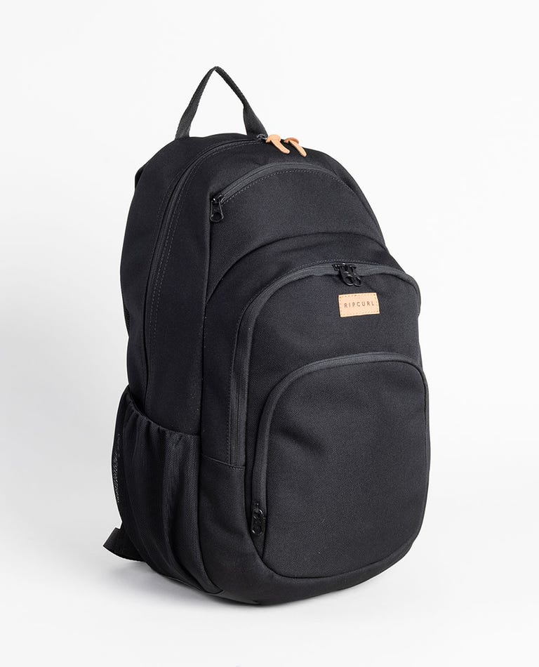 Overtime Saltwater Eco Backpack in Black