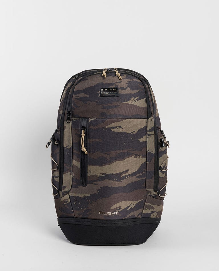 F-Light Searcher Camo Backpack in Khaki