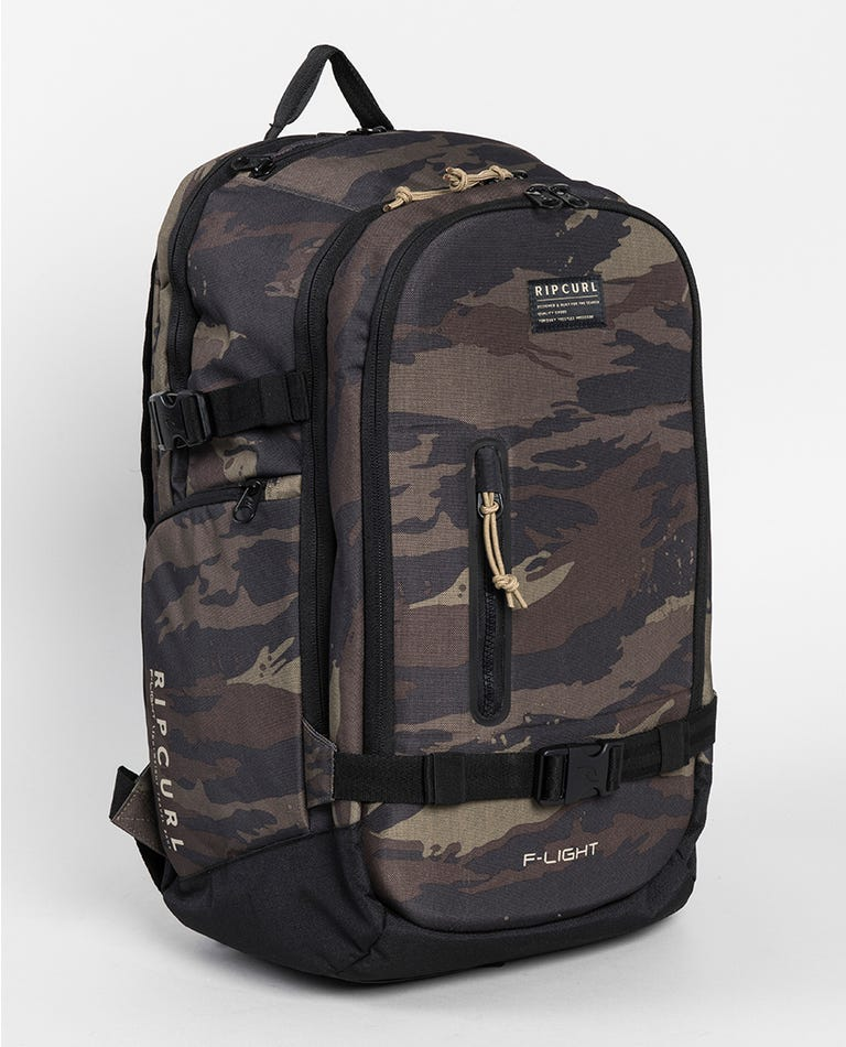 F-Light Posse Camo Backpack in Khaki