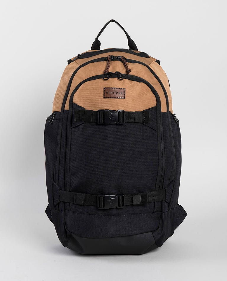 Posse 2.0 Combined Backpack in Black/Tan